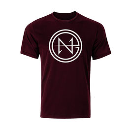 Neo Unleashed T-Shirt - Classic Logo Maroon