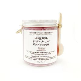 lavender exfoliating body polish