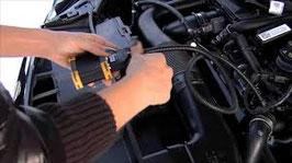 Einbau EMERALD K6 - Motorsteuergerät und Programmierung auf dem Leistungsprüfstand