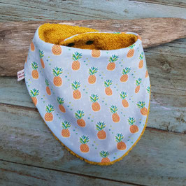 bavoir bandana ananas