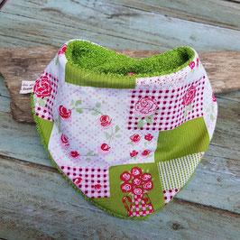 bavoir bandana patchwork
