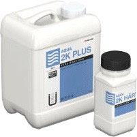 Acryl-Wasserlack AQUA 2k plus halbmatt