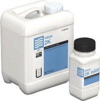 2K-Acryl-Wasserlack AQUA 2K halbmatt