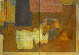 09/8, 70 x 100 cm, Acryl Mischtechnik