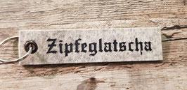 "Schlüsselanhänger ""Zipfeglatscha"""