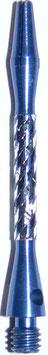 1 Set (=3 Stück) Starlite Shaft Alu Facett medium blau