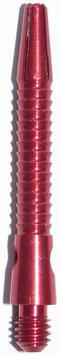 1 Sets (=3 Stück) Alu Colour Shaft Razor Edge short rot