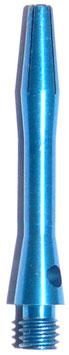 1 Sets (=3 Stück) Alu Colour short blau