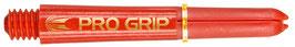 1 Sets (=3 Stück) PRO-GRIP Shaft rot, kurz