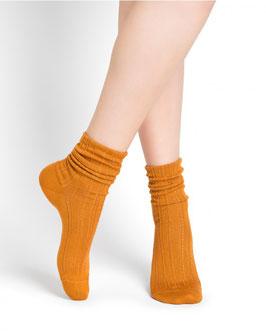 Socken Kaschmir MicroModal Rippstrick BLEUFORÊT 6197
