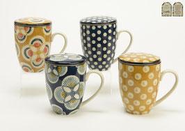 Mug Filtre Imany - 4 designs assortis