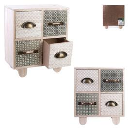 """Rangement 4 tiroirs """"My Little Market"""""""