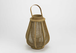 Lanterne bois naturel