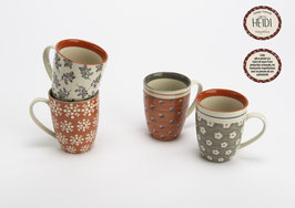 Mug Heidi - 4 designs assortis