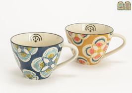 Tasse à thé Imany - 2 designs assortis