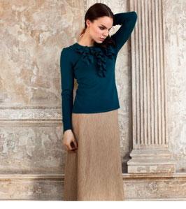Pullover smaragdgrün von Gilyana Ulanova