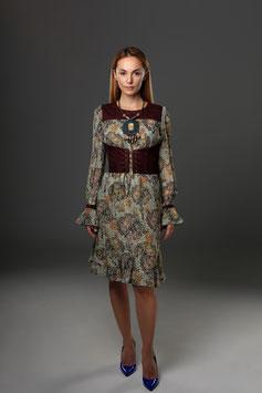 Kleid Baum des Lebens von Ksenia Knyazeva transparent, Langarm (kk-7478)