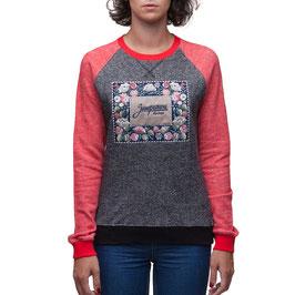 """Sweater """"Blumenstickerei-Zaporojec"""" für Frauen und Mädchen"""