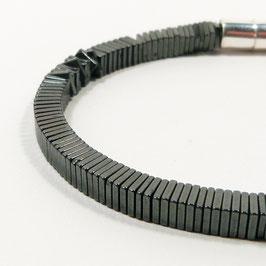 HÄMATIT Scheiben Armband PURE