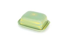 Butterdose eckig ohne Knopf