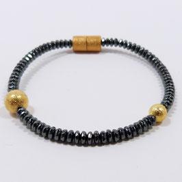 HÄMATIT Armband Gold