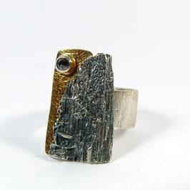 Ring schwarzer Diamant