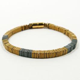 HÄMATIT Scheiben Armband