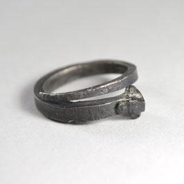 HALLELUYA Ring schwarz