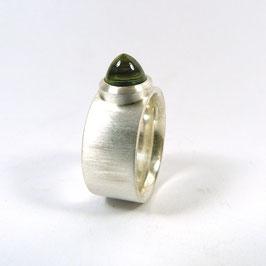 PRASIOLITH Hörnchen Ring