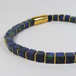 AZURIT/MALACHIT Armband