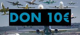 DON 10 € DEDUCTIBLE  IMPOTS REVENUS 2020