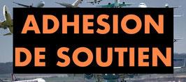 ADHESION DE SOUTIEN 2020 POUR 1 PERSONNE