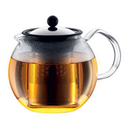 Théière à piston Assam Filtre inox 1L BODUM