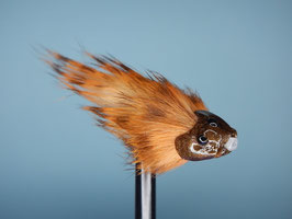 Sculpin Head in Braun 6 Stück