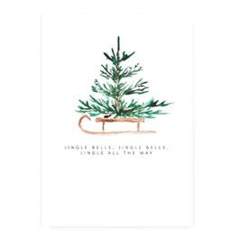 """Karte """"Weihnachtsbaum"""""""