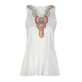 Boho Kleid mit Knöpfen