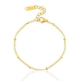 Kugelarmband Gold