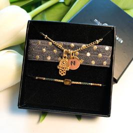 "Armband Bundle ""protector"" -  *Angebot* gold"