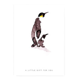 "Karte ""Pinguin"""