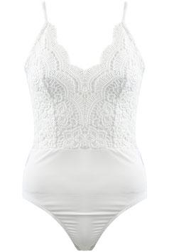 Lace Body Weiß