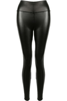 High Waist Leggings schwarz