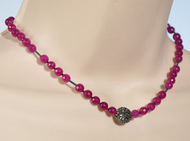 Collier: Pink Jade