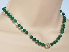Collier: Green Jade