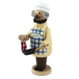 Chân đế đốt hương Kuhnert hình đầu bếp