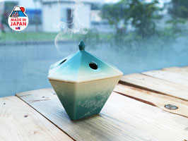 Lư sứ đốt hương Yukari Tsuta