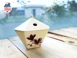 Lư sứ đốt hương Yukari Mokuren