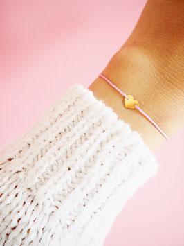 Herzchen Armband | 585 Gold
