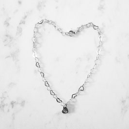 Herzi Herzi Herz Armband mit Herzanhänger | 925er Sterlingsilber