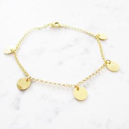 Boho Armband Sterlingsilber | Gold