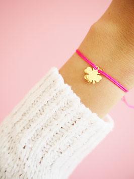 KLeeblatt Armband | 585 Gold